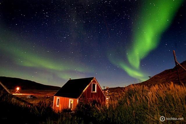північне сяйво в Ісландії