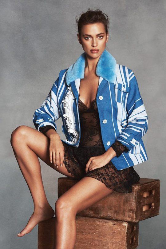 Вагітна Ірина Шейк знялася у фотосесії в нижній білизні
