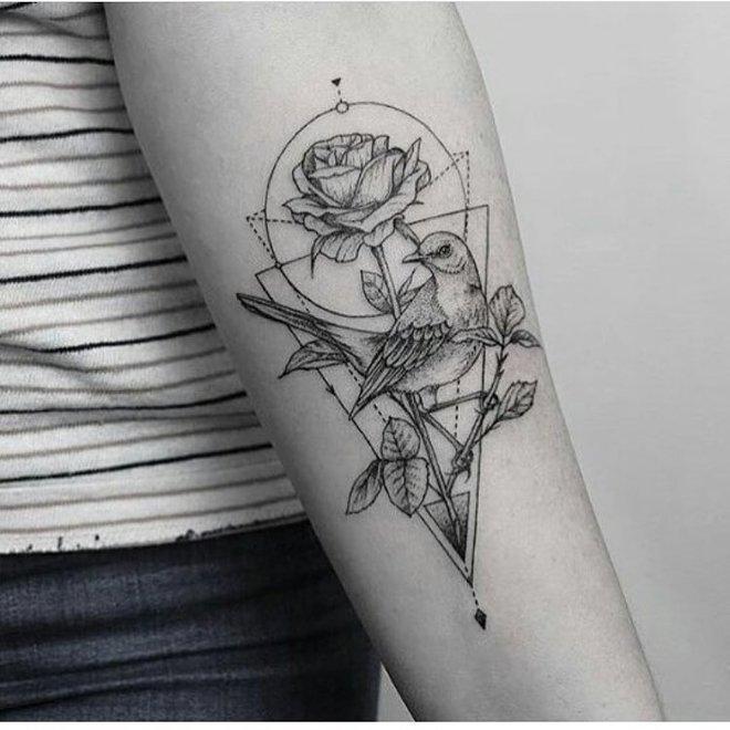 Милые и забавные татуировки