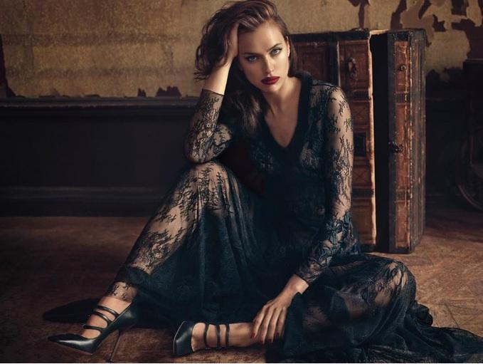 Ирина Шейк в рекламной кампании Blumarine