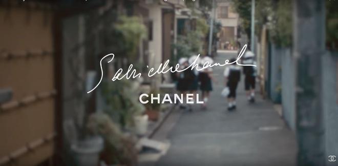 Віллоу Сміт в рекламному відео Chanel