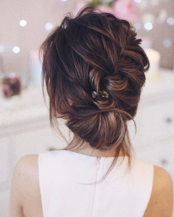 Прически на длинные волосы 14 февраля