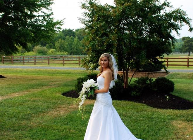 Грезы невесты: роскошное свадебное платье
