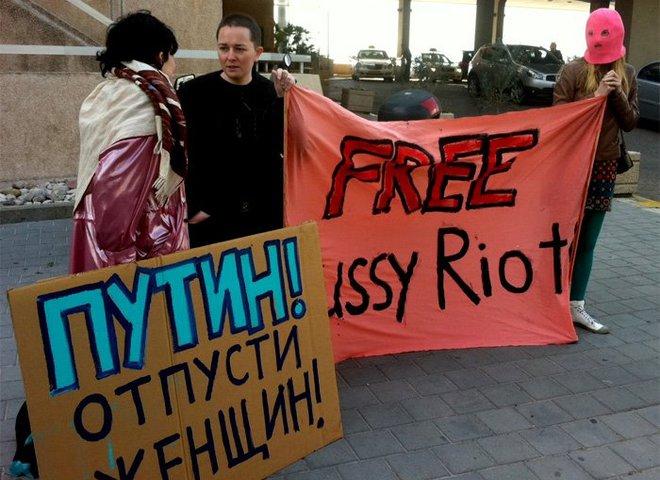 Дівчат із Pussy Riot  визнали в'язнями совісті