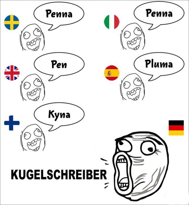 Кличко, рисунки на немецком смешные