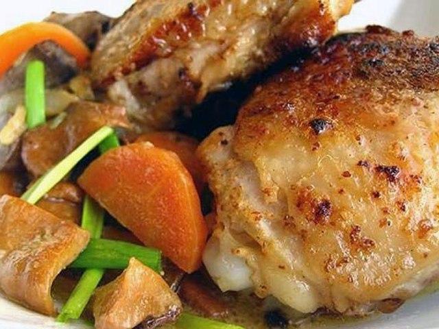 Блюда из бедер курицы рецепты с фото