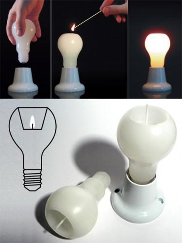 свечко-лампо