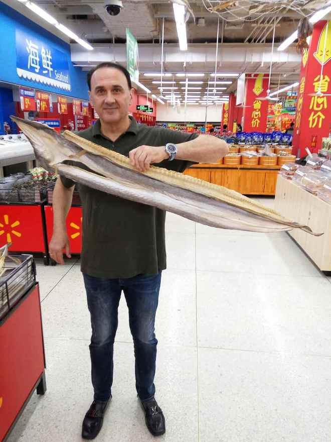 Гришко у Китаї
