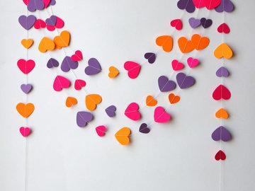 Прикраси для дому в день Святого Валентина