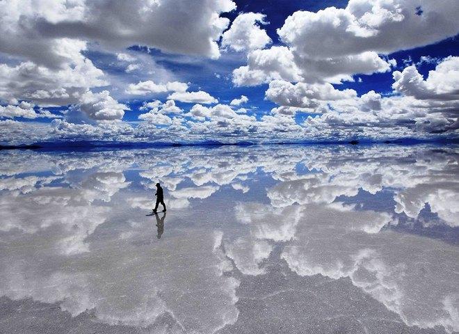 Чудеса природи: Солончак Уюні, найбільше солоне озеро в світі