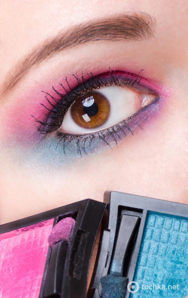 Макияж под цвет глаз