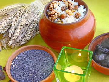 Крещенский сочельник: традиции и обряды, Кутья из риса