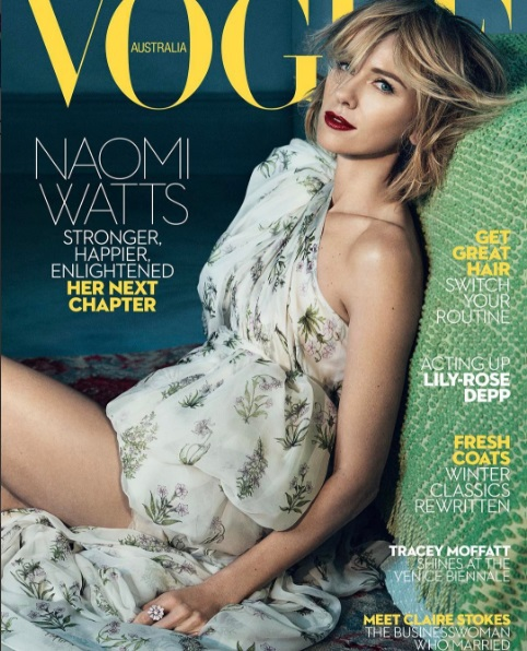 Наоми Уоттс для Vogue