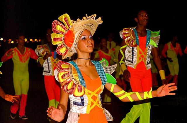 Фестиваль огня на Кубе