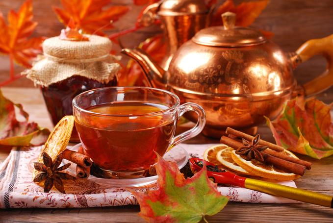Фруктовий чай з прянощами