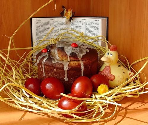 Христос Воскрес! Со светлым праздником Пасхи