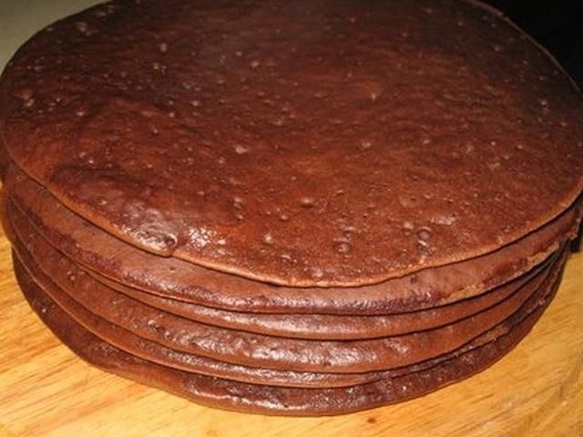 рецепт бисквита на сковороде с фото