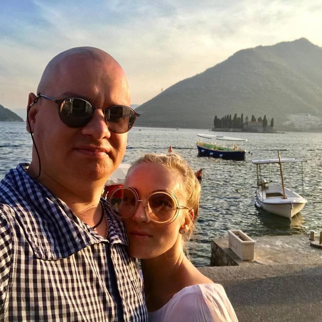 Евгений Кошевой и его жена обвенчались