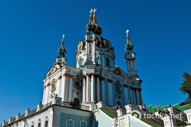 Что мы знаем о выдающихся достопримечательностях Киева: Андреевская церковь