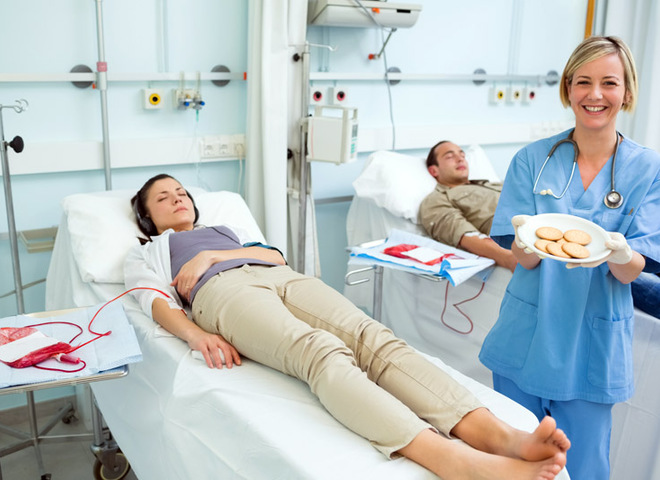 Меню на 2 дня – если хочешь сдать кровь