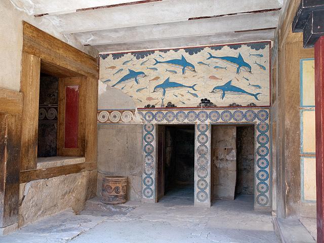 Достопримечательности Греции: Кносский дворец