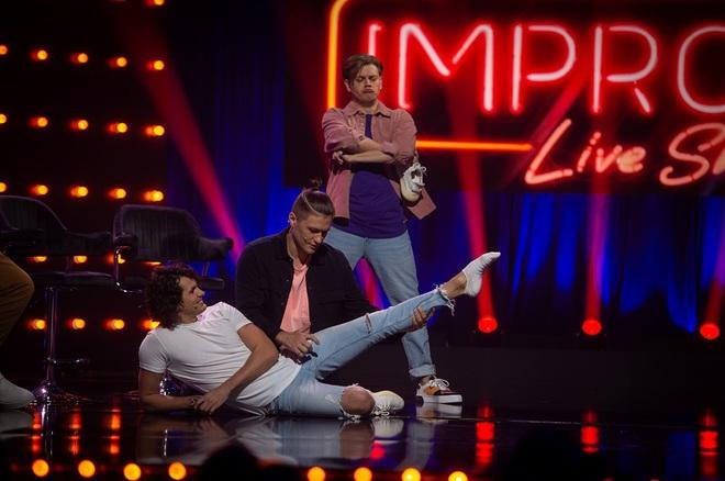 Женя Кот в Improv Live Show