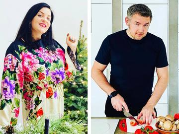 Наталья Холоденко и Дмитрий Карпачев