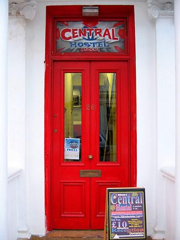 Достопримечательности Лондона: Central Hostel