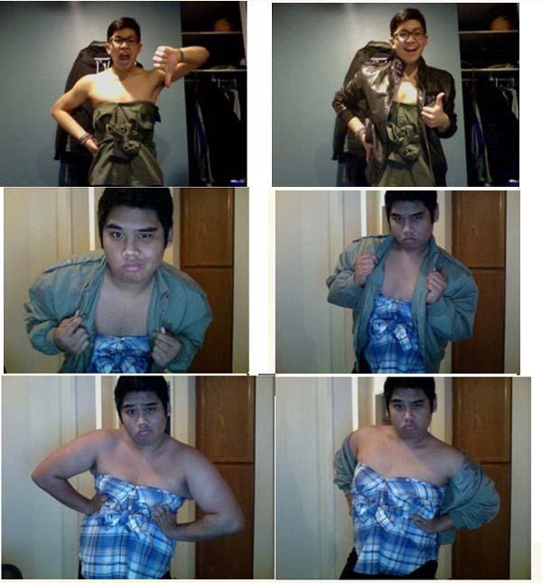 Как великолепно выглядеть в мужской рубашке