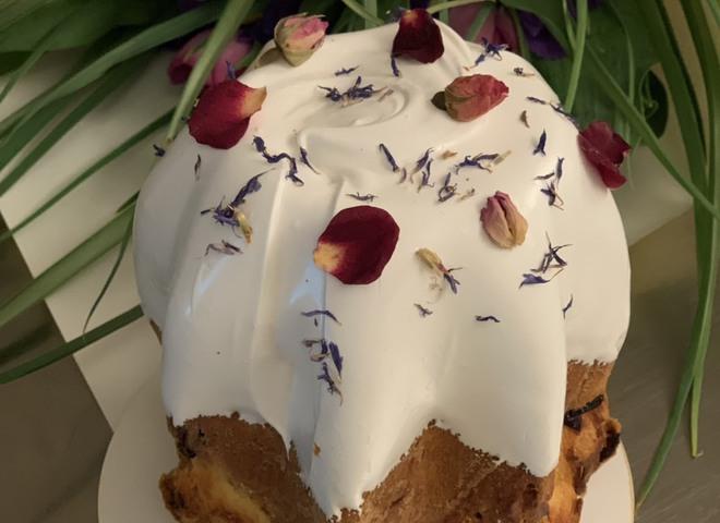 Фирменный рецепт пасхального кулича от Елизаветы Глинской