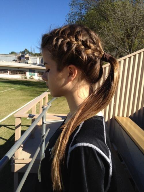 Зачіски для занять спортом