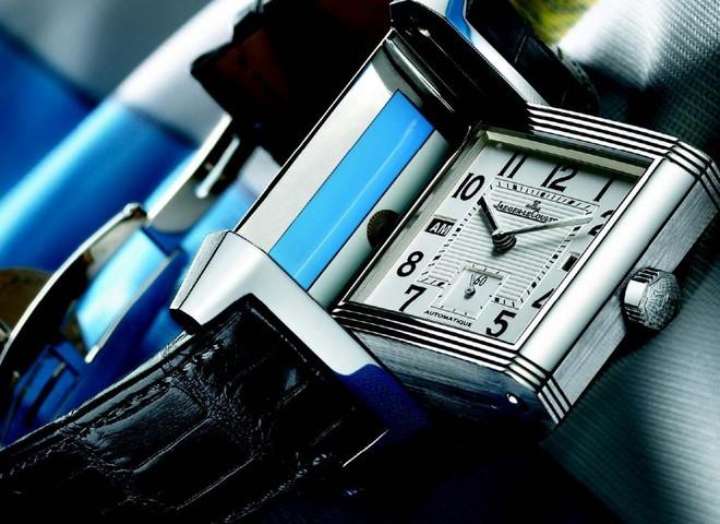 Классические часы-перевертыш от Jaeger-LeCoultre