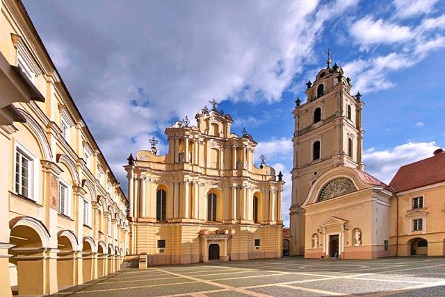 Достопримечательности Вильнюса: костел Святых Иоаннов