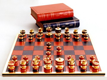 Коштовні шахи від Джеффрі Паркера