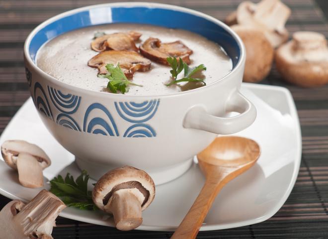 Грибной суп-пюре: ароматное первое блюдо