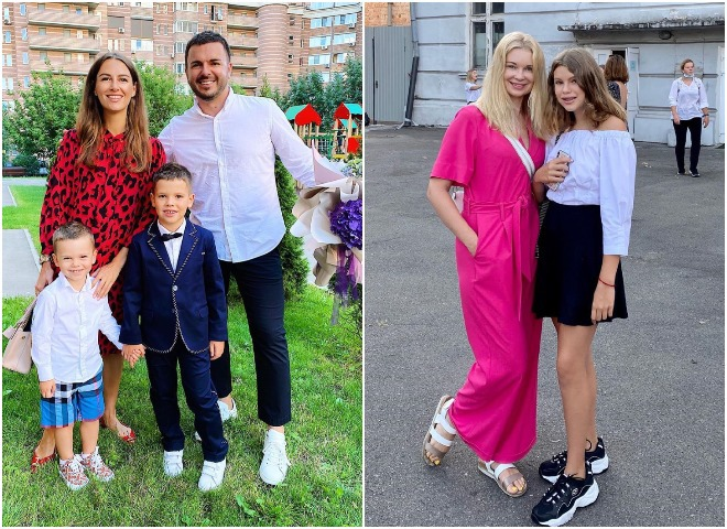 День знаний 2020: как украинские звезды отвели детей в школу