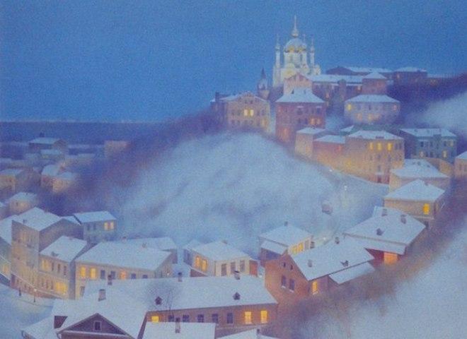 Казковий Київ на полотнах художника Олександра Лірнера