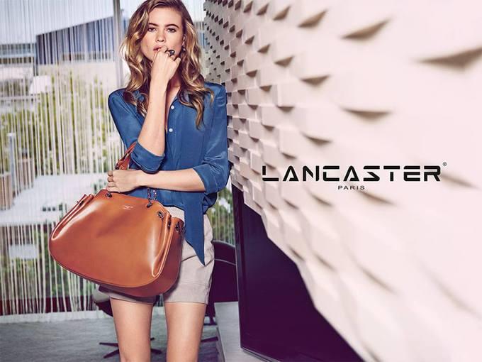 Новая рекламная кампания сумок Lancaster Paris
