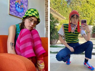 Элла Эмхофф запускает коллекцию вязаной одежды