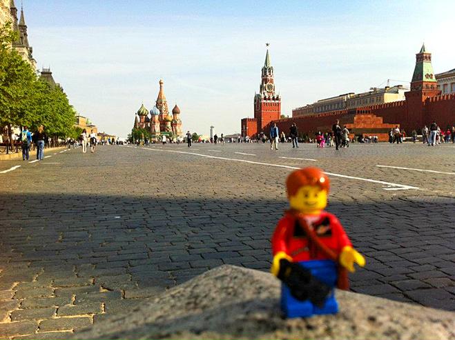 Подорож іграшки: Росія, Москва