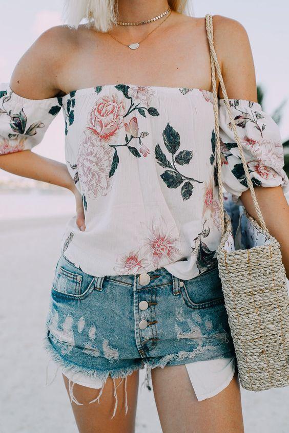 Блузы весна 2018