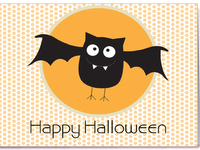 Няшные открытки на Хэллоуин