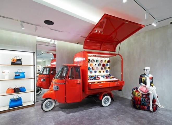 Pop-up store Fendi отправляется в Америку