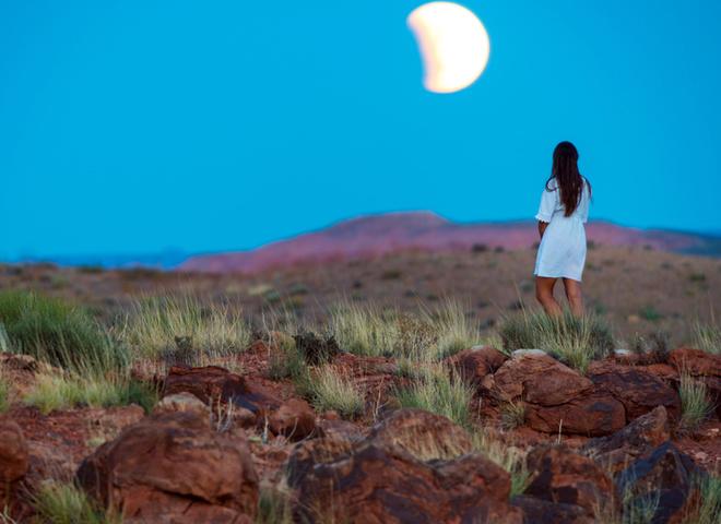 Лунное затмение 2016