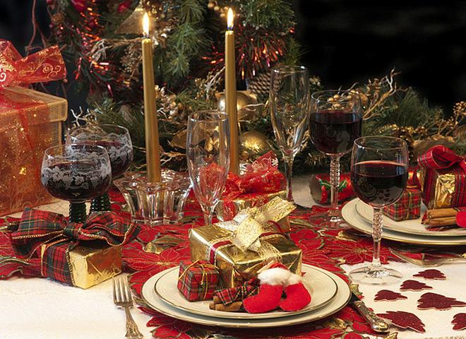 Стихи про Рождество, Рождественский стол