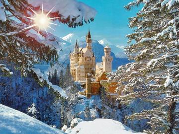 Найкрасивіші замки Європи. Замок Нойшванштайн, Німеччина