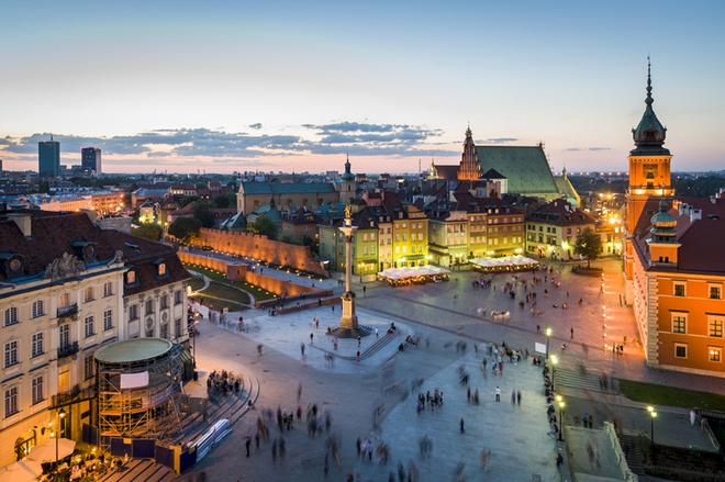 Достопримечательности Варшавы за 24 часа