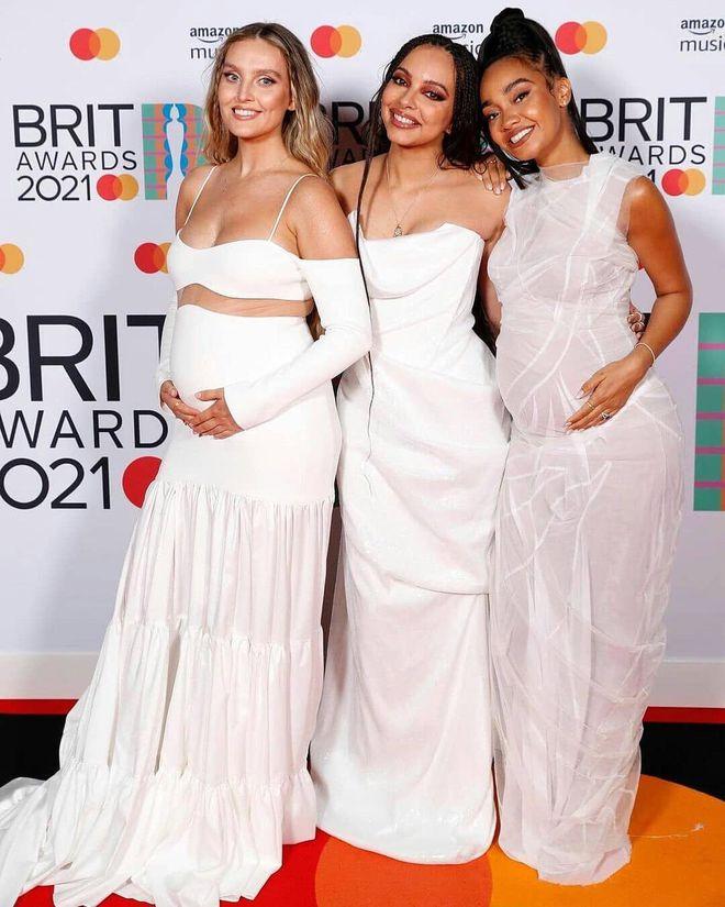 Герл-группа Little Mix на Brit Awards 2021