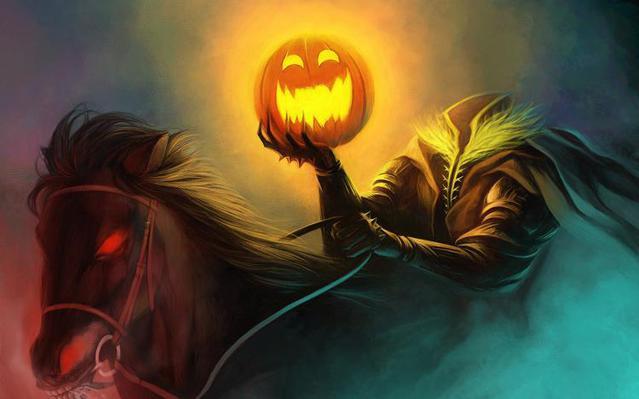 С Праздником Хэллоуин!