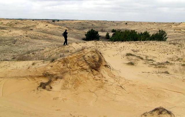 Путешествие по украинской Сахаре - Алешковские пески